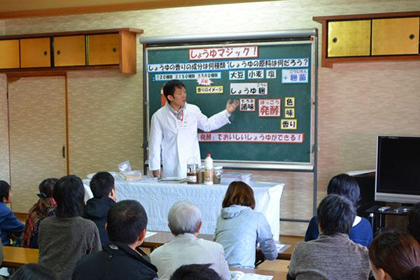奈良醤油蔵見学